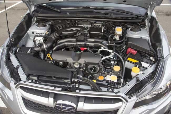 Оппозитный двигатель Subaru Impreza
