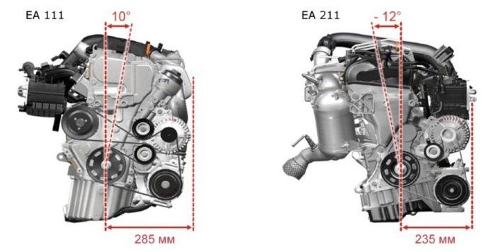 Отличия EA111 от EA211