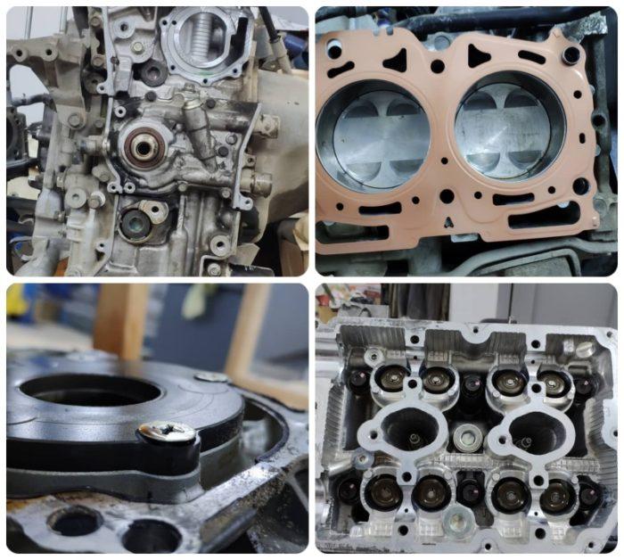 Детали мотора EJ204