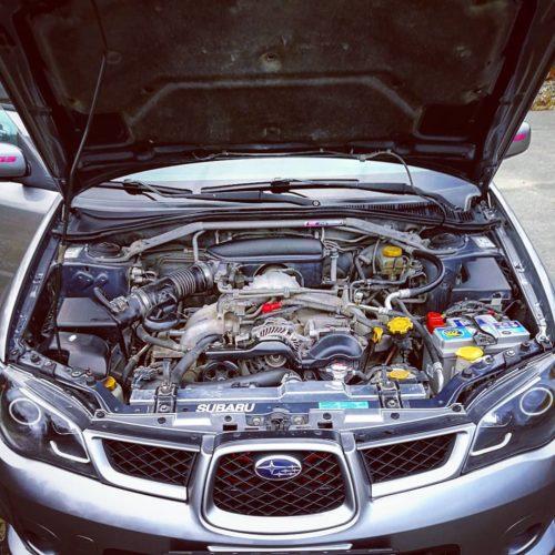 Двигатель Subaru EJ204