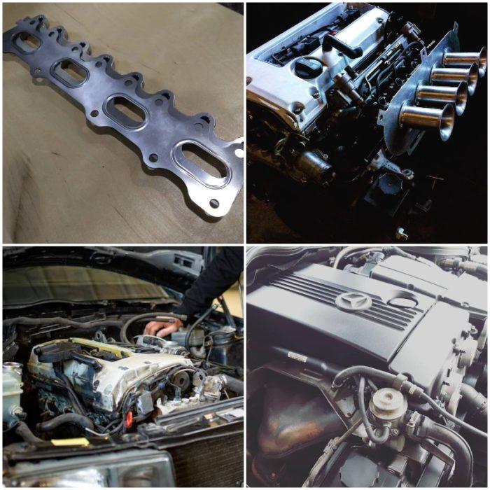 Двигатель Mercedes M111
